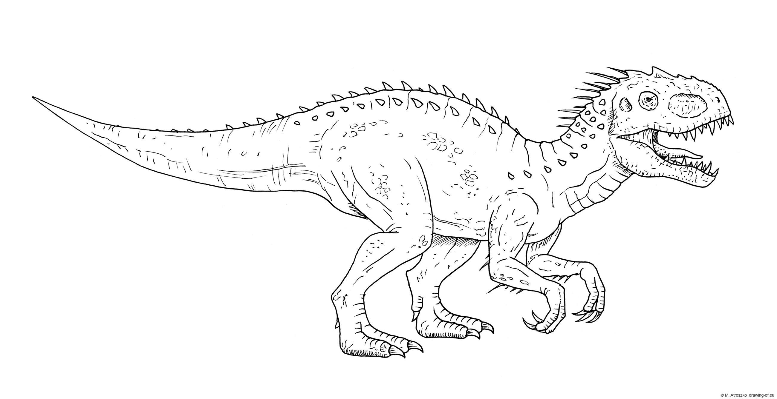 Indominus rex draw