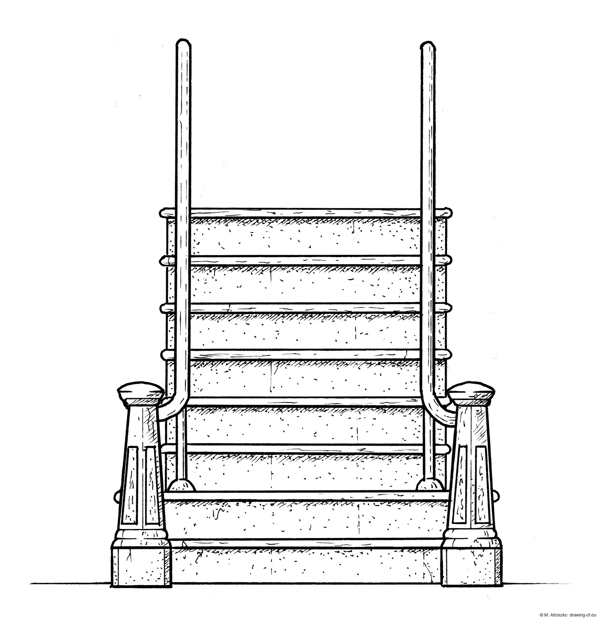 stairs draw