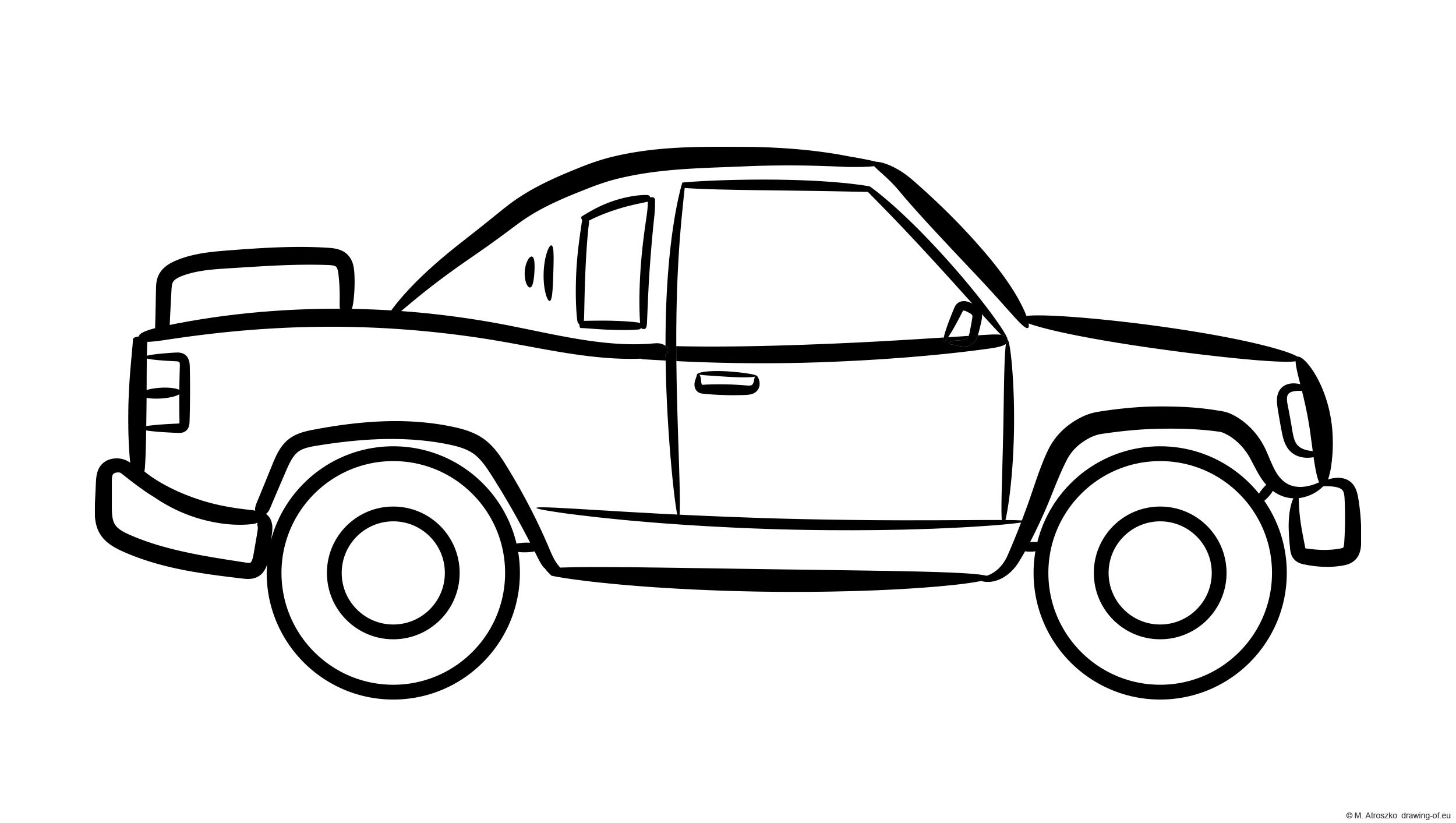 off-road car coloring page